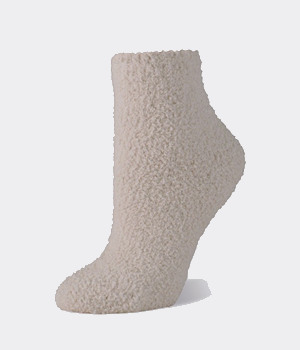Worlds Softest Sock Spa Off White