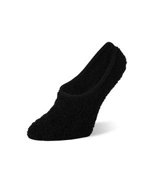 Worlds Softest Sock  Spa Footsie Black
