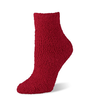 Worlds Softest Sock Spa Red