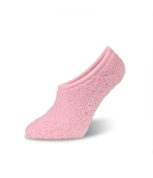 Worlds Softest Sock  Spa Footsie Light Pink