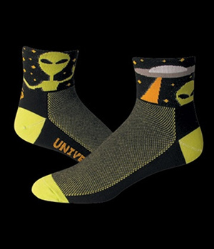 Save our Soles Cycling Socks Alien Peace