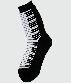 Foot Traffic Piano Keys