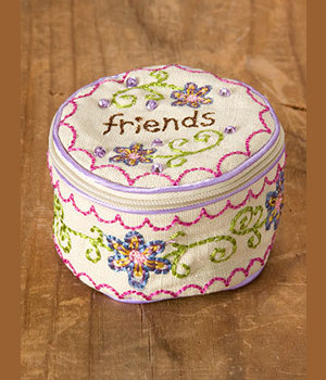 Jewelry Zipper Bag Friends