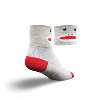 Sock Guy Cycling Socks Sock Monkey Wool Sock