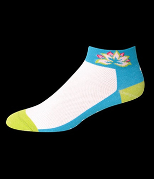 Save our Soles Cycling Socks Lotus