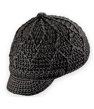 Pistil Short Brim Knit Hat Black