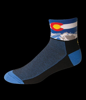 Save our Soles Colorado Flag Black Mini Crew