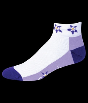 Save our Soles Colorado Columbine Purple