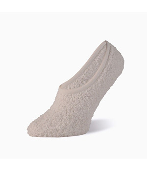 Worlds Softest Sock  Spa Footsie Off White