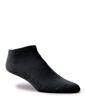 Worlds Softest Sock Low Cut Black
